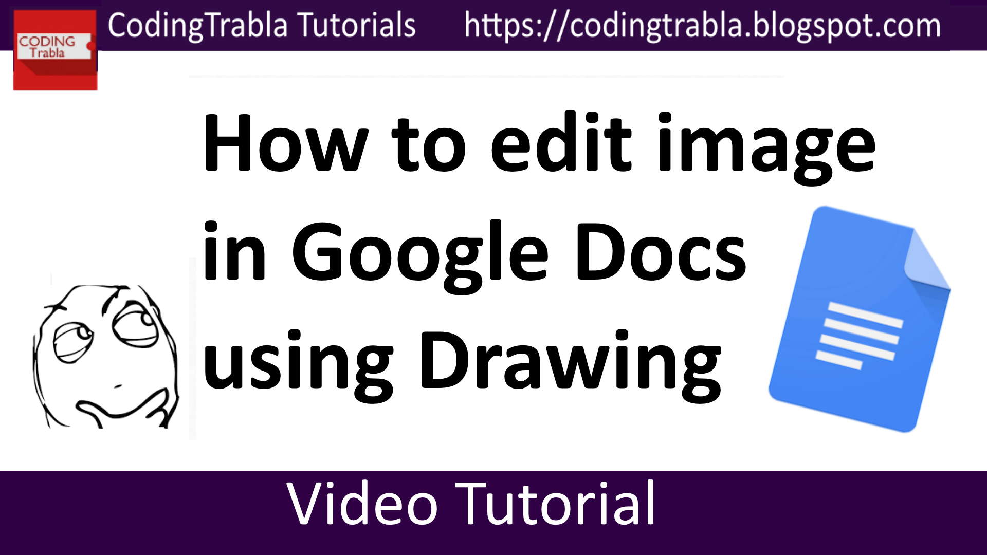 How To Edit Image In Google Docs Using Drawing