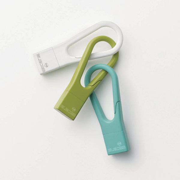 USB memory stick in the form of a carabiner and can be attached to…