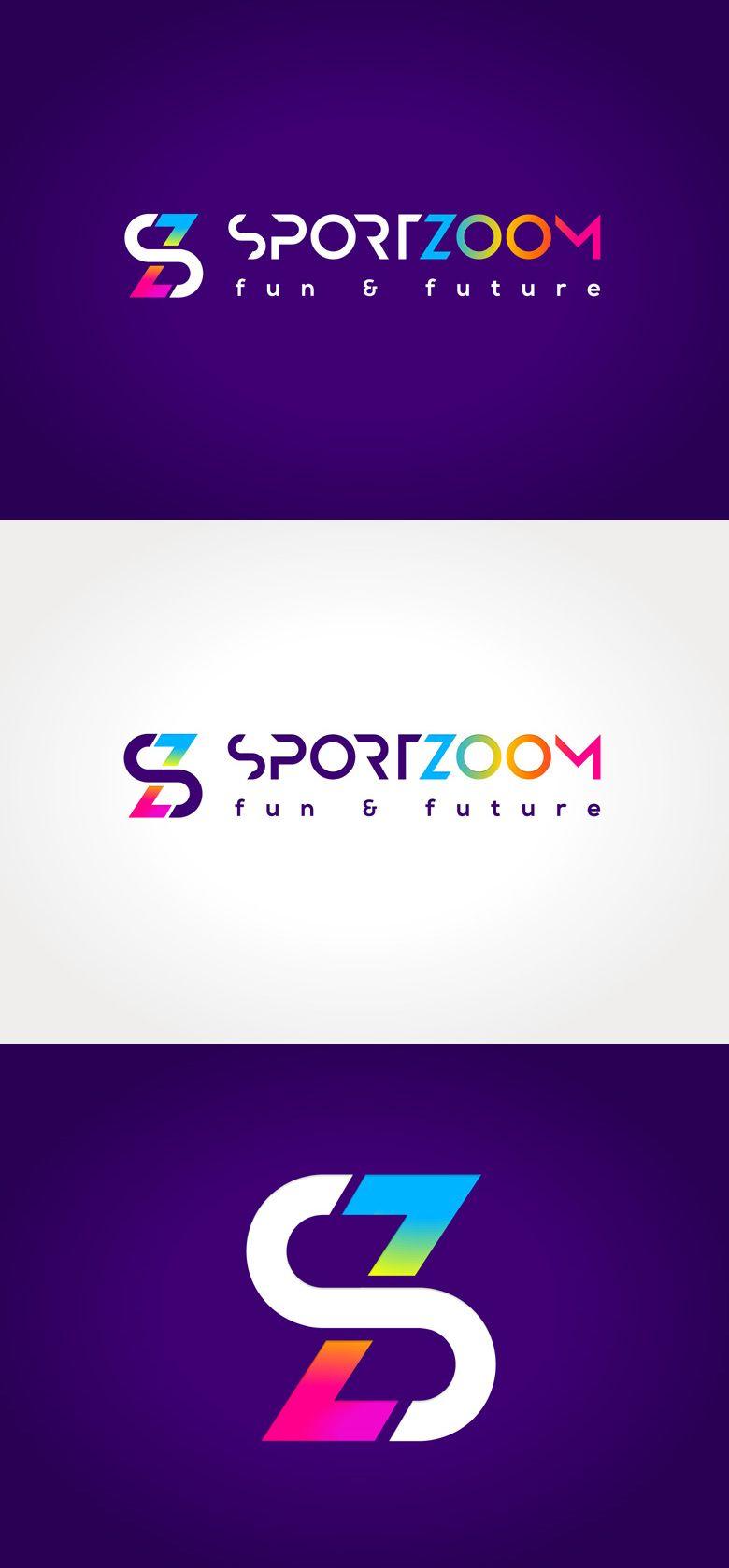 Diseno De Logotipo Para Sportzoom Un Centro De Ocio Ubicado Al Norte De Madrid Y Dirigida Esp Marcas De Ropa Deportiva Nombres Para Negocio Logotipo De Tienda