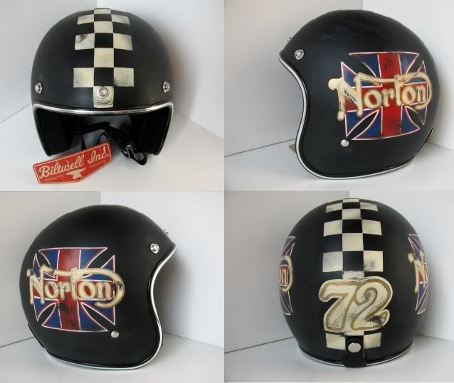 distressed lids old school helmets custom paint motorcycles helmets and related. Black Bedroom Furniture Sets. Home Design Ideas