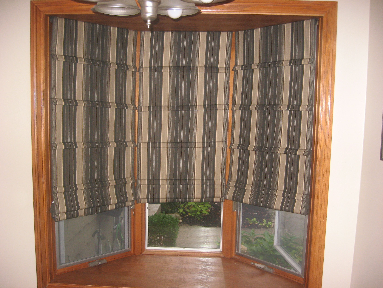Front Fold Roman Shade Columbus Ohio Shades Window Treatments