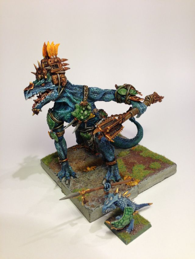 The Dread Saurian Is Drawn The Coming Storm Of Magic Lizardmen