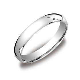 Women S 14k White Gold 4mm Comfort Fit Wedding Band Ring Size 6 5 14k White Gold Amazoncom C White Gold Wedding Bands Wedding Ring Bands Mens Wedding Rings