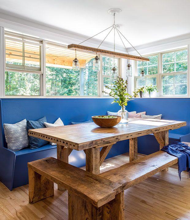 l int rieur d une maison familiale idyllique au nouveau brunswick lighting pinterest. Black Bedroom Furniture Sets. Home Design Ideas