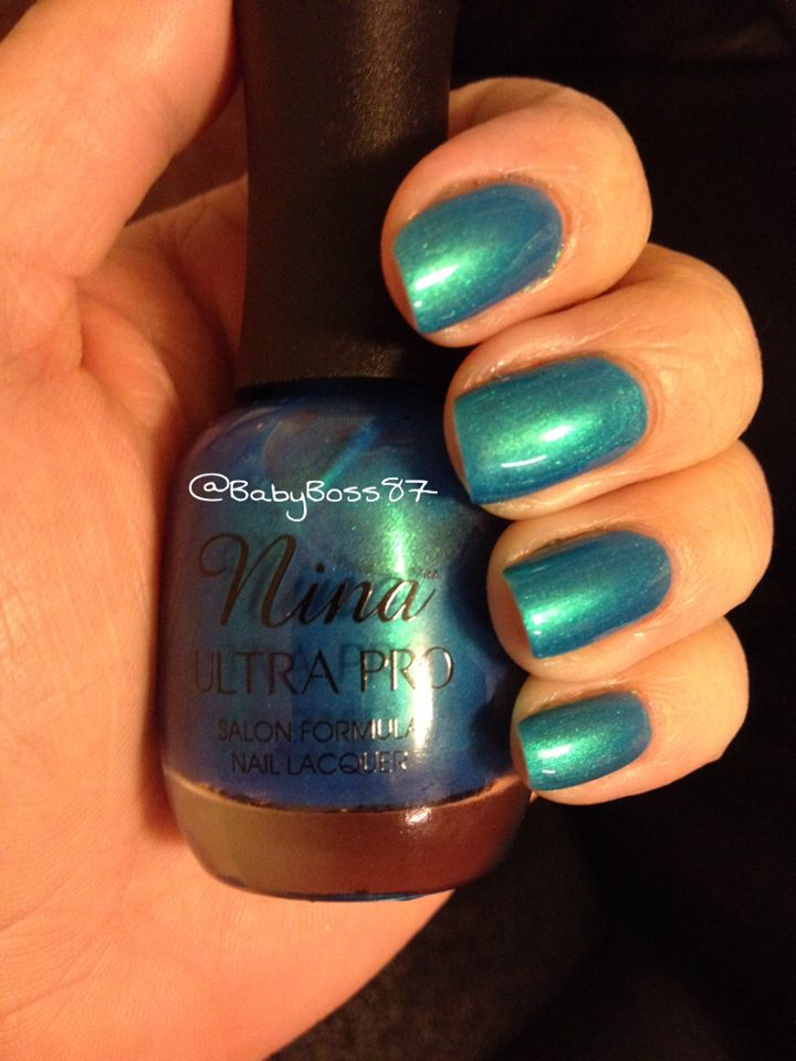Caribbean Blue - Nina Ultra Pro | Constantly Polished | Pinterest ...
