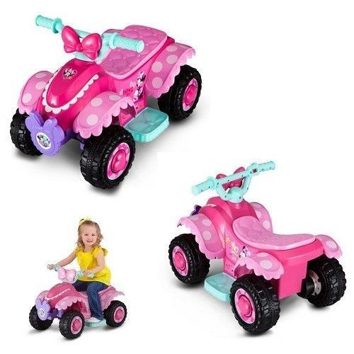 Disney Minnie Mouse Electric Quad Battery Powered Ride On