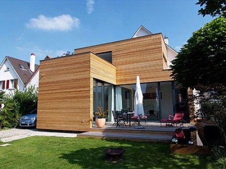 Montage Fachwerkträger Haus umbau, Hauserweiterungen