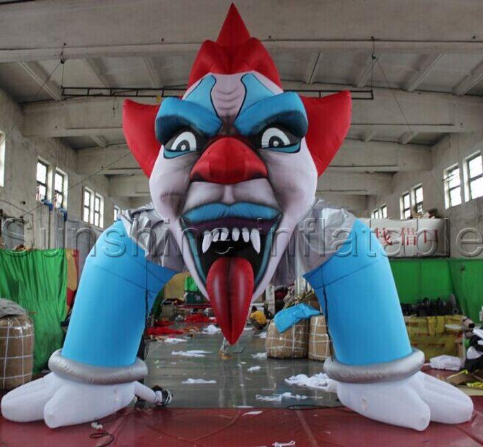 Hot selling halloween inflatable door arch inflatable entrance - lowes halloween inflatables