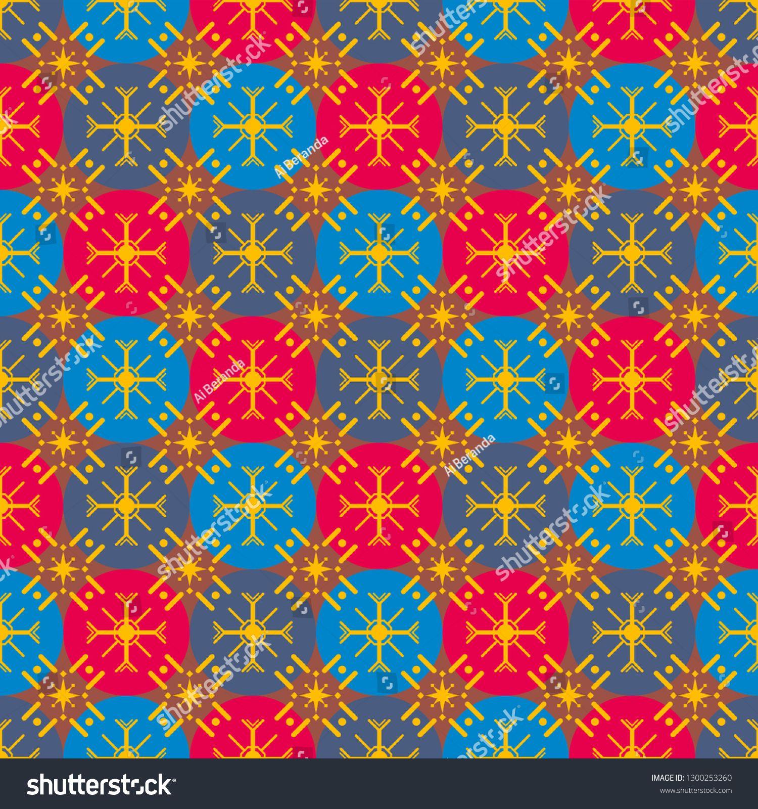 Seamless Pattern Of Batik