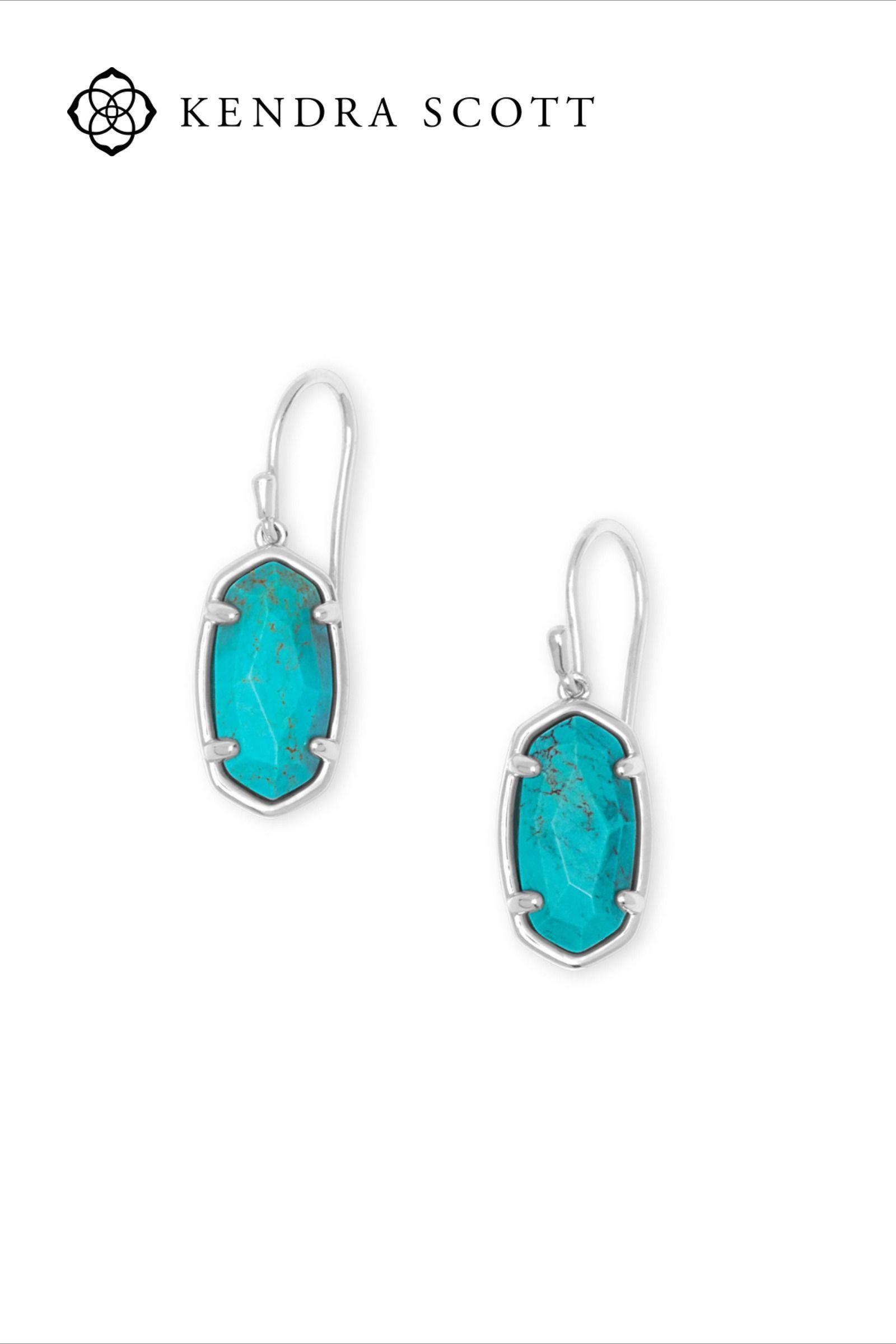 Turquoise Earrings Lee Sterling Silver Jewelry Drop Earrings In Genuine Turquoise In 2020 Sterling Silver Drop Earrings Silver Drop Earrings Jewelry
