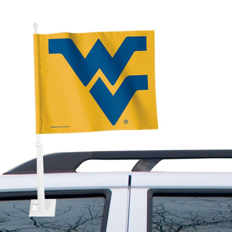 "West Virginia Mountaineers WinCraft 12"" x 15"" Double-Sided Car Flag"