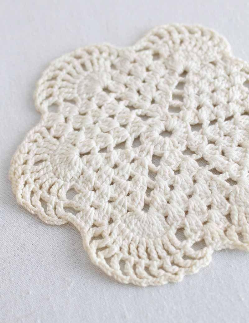 Best Free Crochet » Free Crochet Pattern Vintage Mini Doily #89 ...