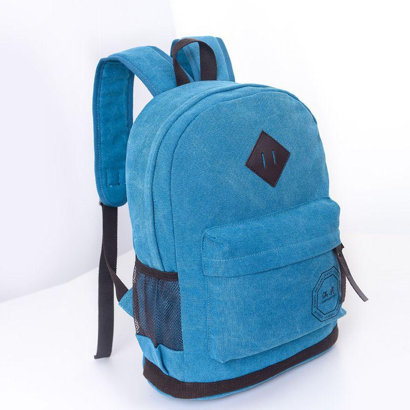 Cheap 2015 mochila de cuero para hombre de Moda personalizada escuela  Mochilas lienzo viaje bolsos Mochilas Escolares Rucsac Bolsa Escola Moda e5882f9ed05a4