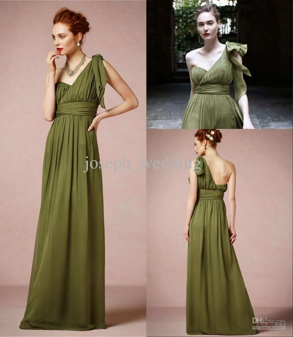 Wholesale Bridesmaids Dresses - Buy ZBD-118 New Arrival Olive Green ...