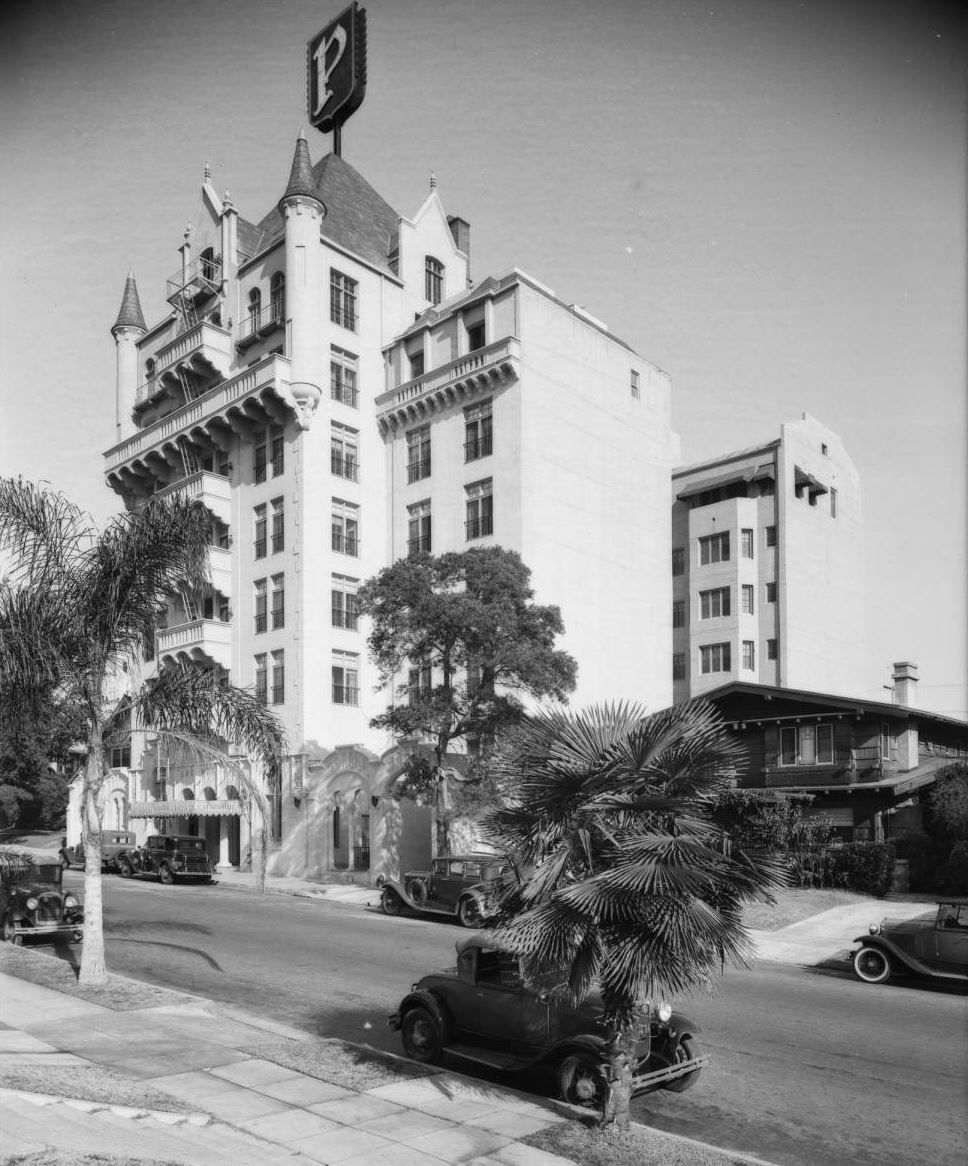 Yesterday S Print Piccadilly Apartments Los Angeles 1931