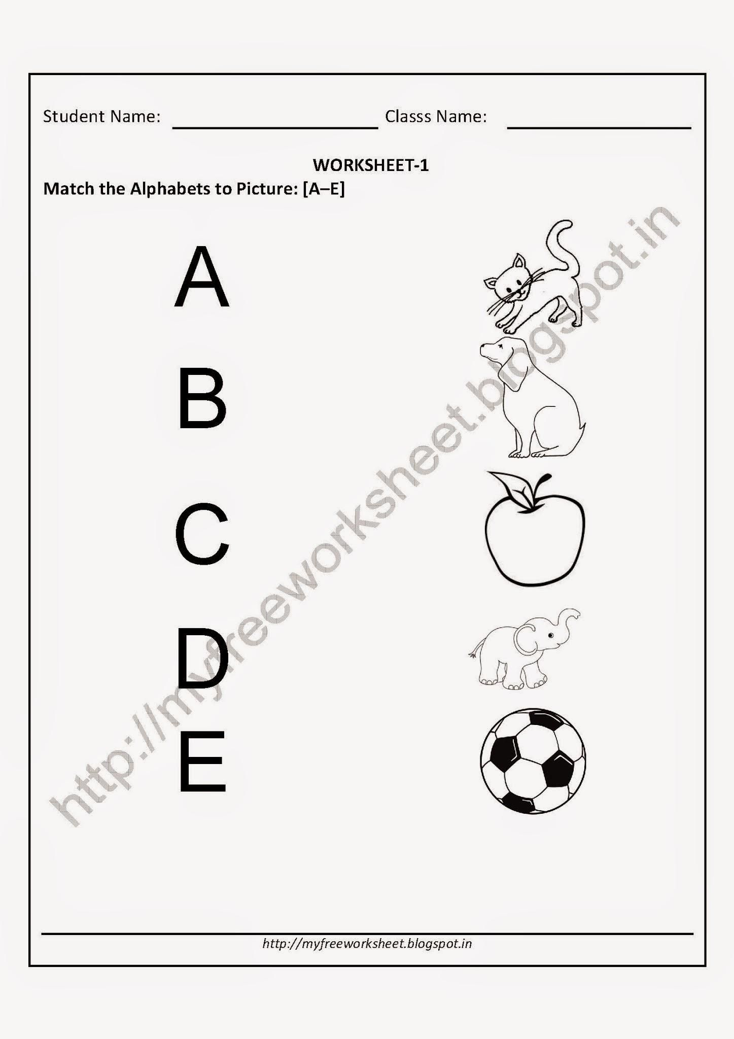 Awesome Child Alphabet Worksheets That You Must Know You
