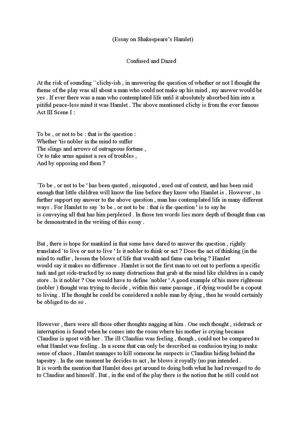 literary essay examplescritical essay samples english essay examples free - English Essay Examples