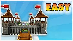 Minecraft How To Make A Mini Castle Youtube Small Castles