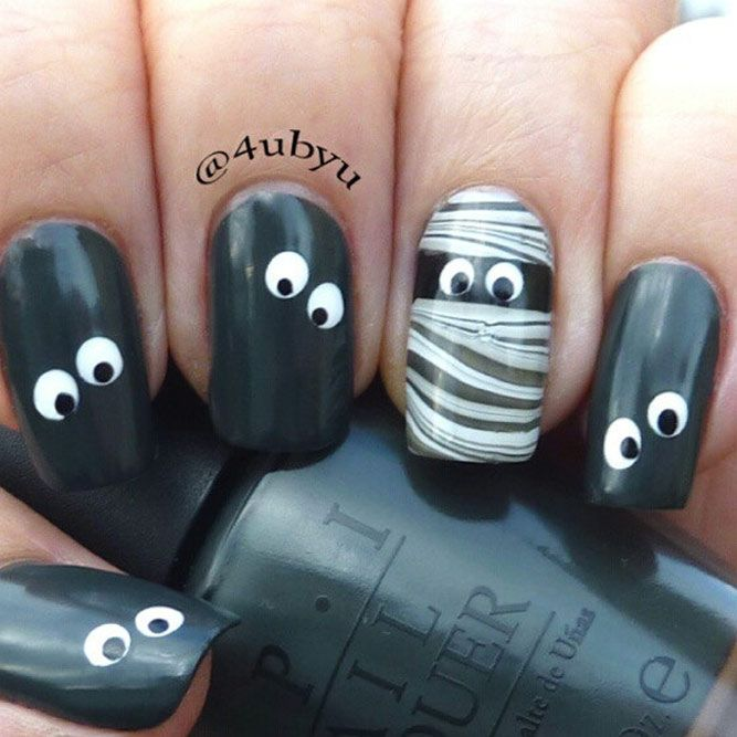 Halloween Nails Design 2020 41 Cute And Creepy Halloween Nail Designs 2020 | Halloween nail
