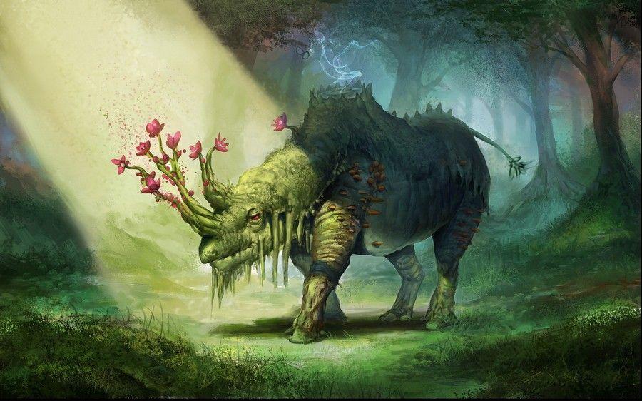 Картинки со сказочными созданиями из мира фэнтези ...