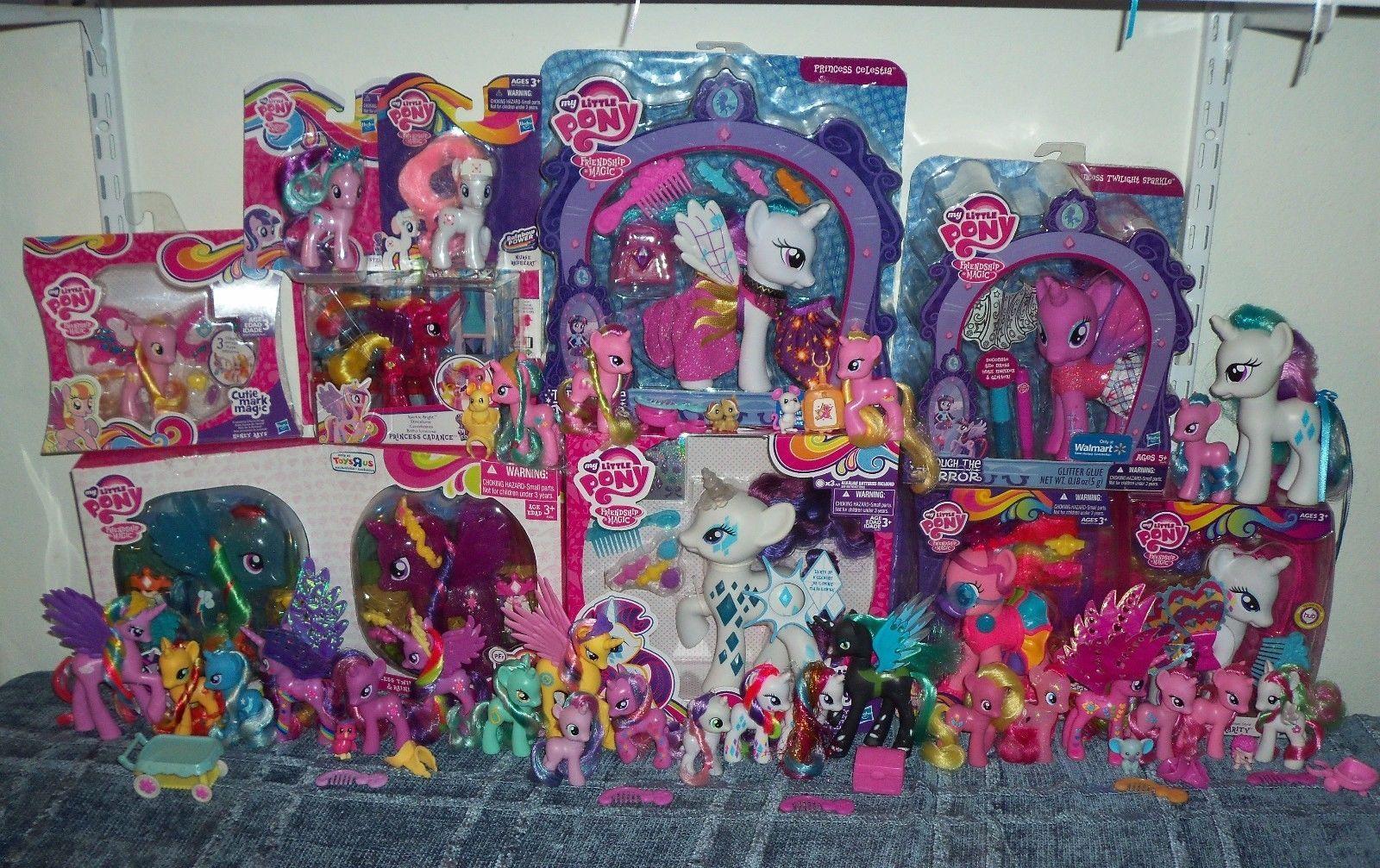 My Little Pony Huge G4 Lot Mip Prototype Fakie Fashion Style My Little Pony Pony Style