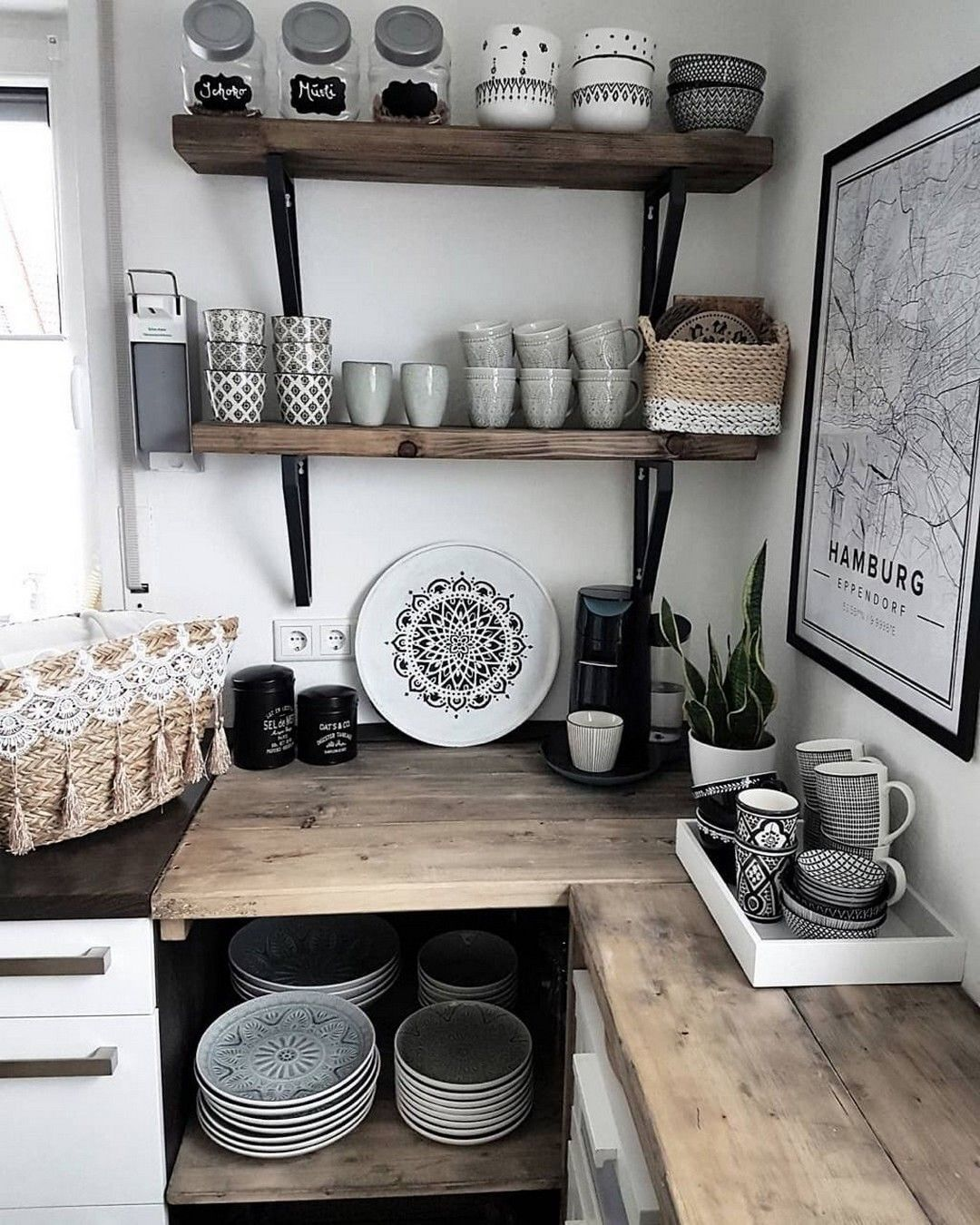 DIY Kitchen Ideas for Small Spaces Small space kitchen