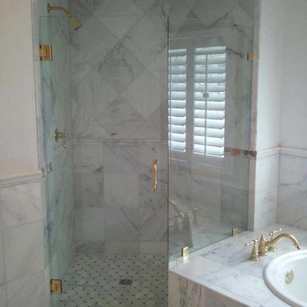 Gold Bathroom Fixtures Bathroom Remodel Corner Shower Enclosure - Bathroom remodel des moines for bathroom decor ideas