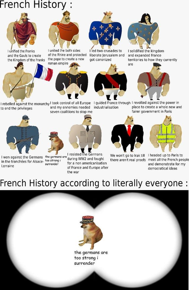French History in a nutshell HistoryMemes in 2020