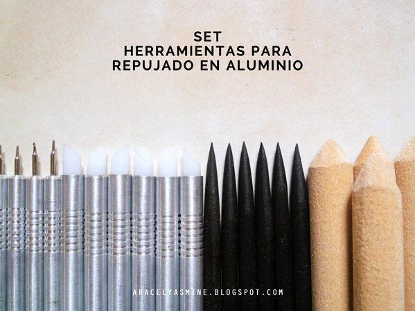 d5da55a15322 Aprende a usar la pátina sobre una lámina de aluminio, en unos pocos pasos  obtendrás un resultado envejecido al repujado