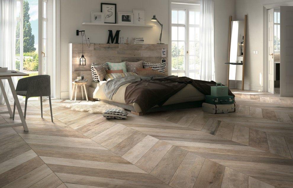 20 Bedrooms With Herringbone Pattern Designs Floor Tile Design