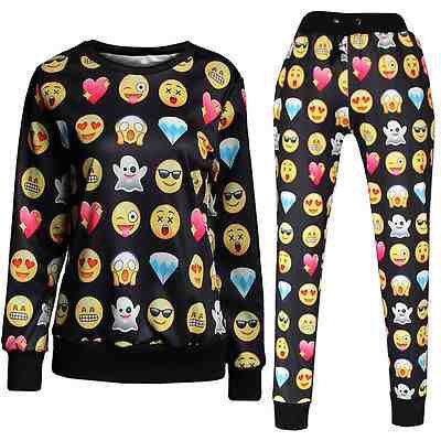 Stylish Emoji Joggers Fashion Pants Emoji Legging Emoji Sweater Clothes Emoji Clothes Fashion