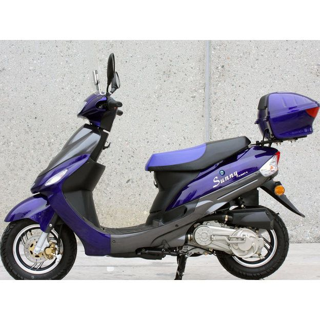 gas moped scooter