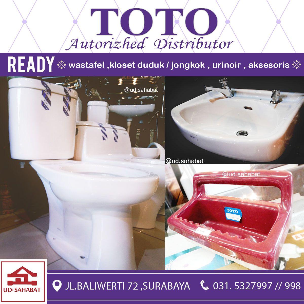 jual aneka sanitary kebutuhan kamar mandi merk TOTO wastafel toto ...