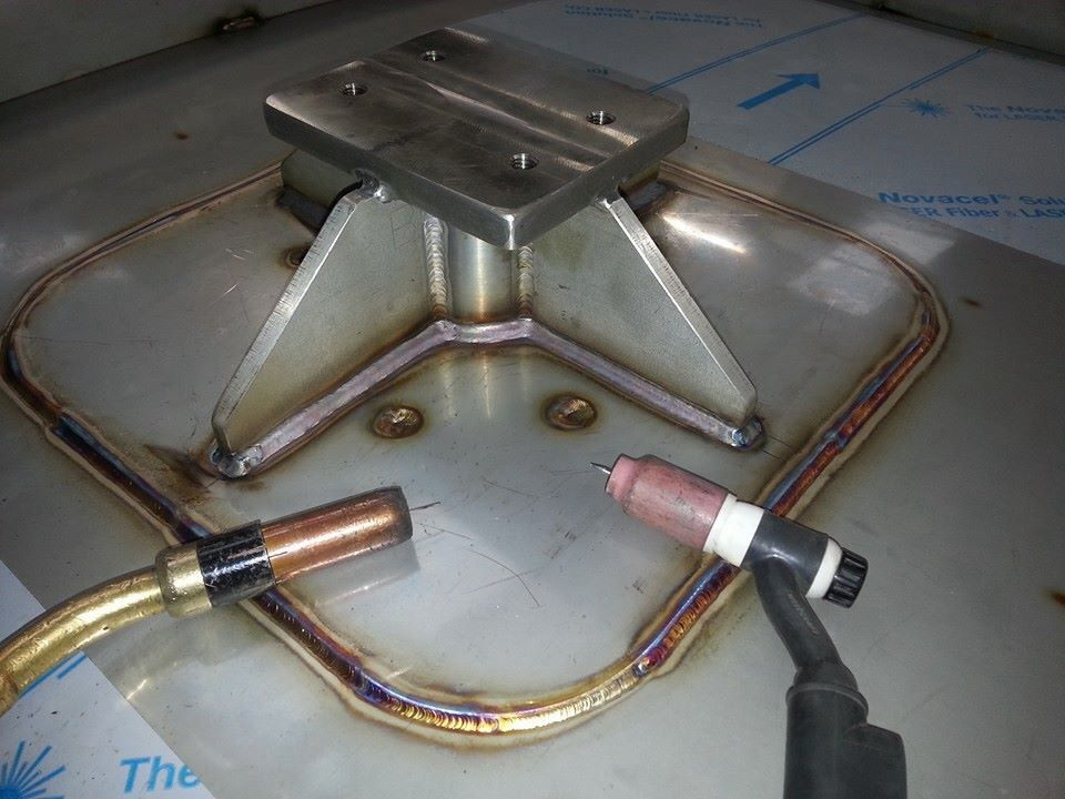 Stainless MIG/TIG welding Metal working, Metal welding