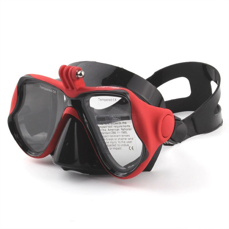 GoPro Accessories Tempered Dive Snorkeling Scuba Face Mask Swimming