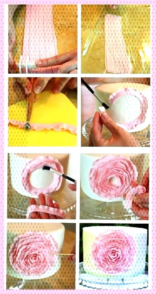 All Time Easy Cake MASS FLOWERS ELASTIC - Pies decoration - FLOWERS