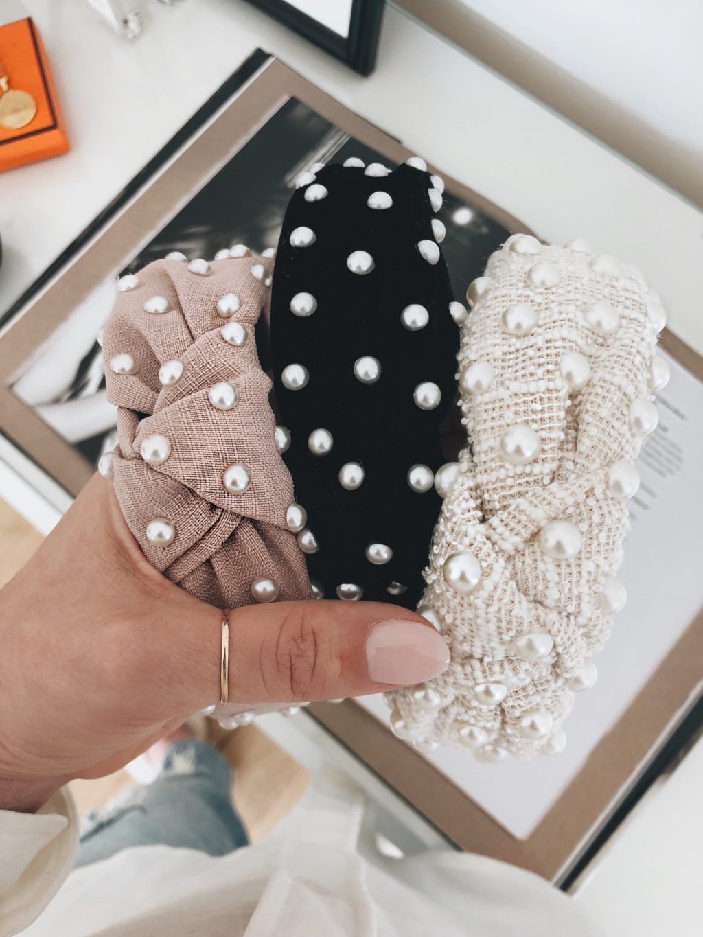 The Pearl Headband Trend (And They Are Under $40) | The Teacher Diva: a Dallas Fashion Blog featuring Beauty & Lifestyle