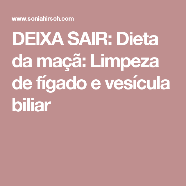 dieta para quem tem calculos na vesicula biliar