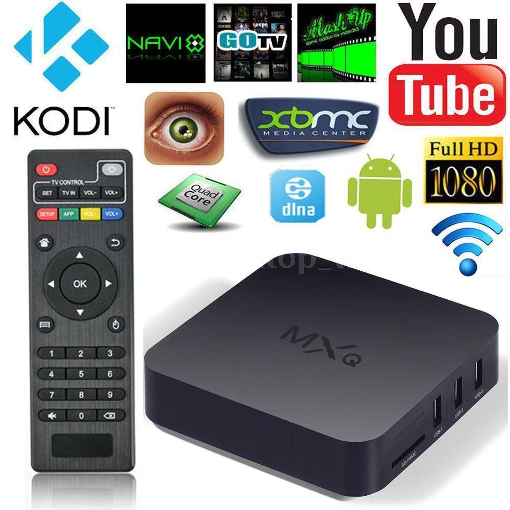 Smart+TV+BOX+Android+4.4+Quad+Core++8GB+MXQ+S805++WIFI+HD+1080P+Kodi+Media+Player