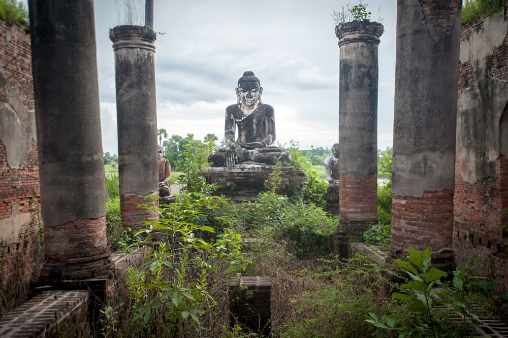Myanmar / Mandalay Region / Inwa / Yadanarsemi Pagoda