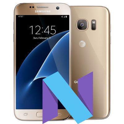 Samsung Galaxy S7 Australia Optus SM-G930F Nougat Official