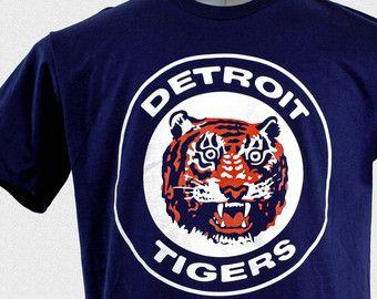 detroit tigers vintage t shirt