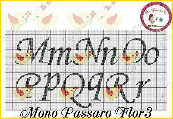 Mono Pássaro Flor - SuPontoX