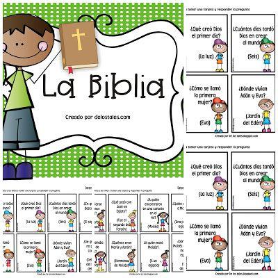 Libros De La Biblia Y Preguntas Lecciones Bíblicas Para Niños Estudios Bíblicos Para Niños Libros De La Biblia