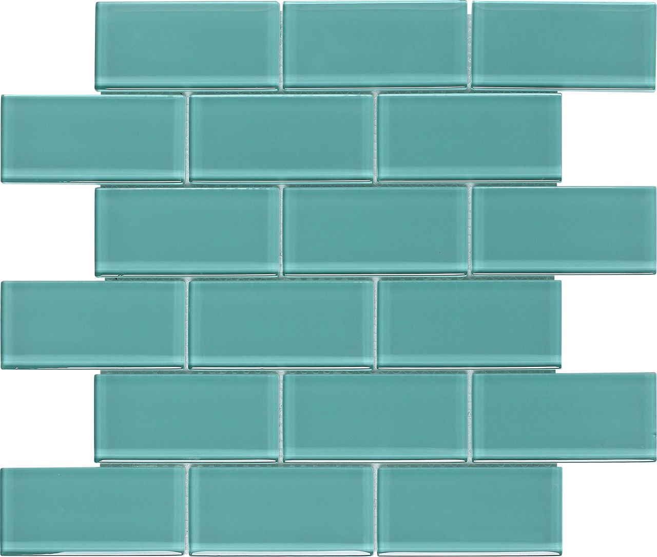 Subway Glass Tile Turquoise 2x4 | Pinterest | Turquoise, Kitchen ...