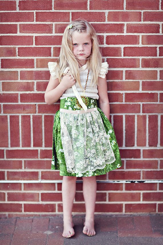 Grassland apron skirt