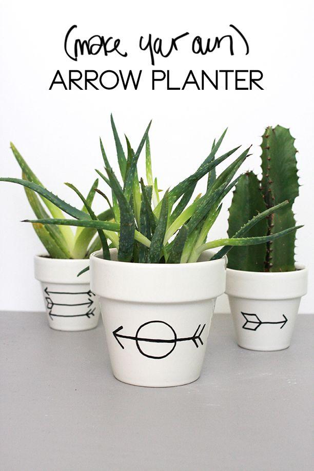 Simple Arrow Planter