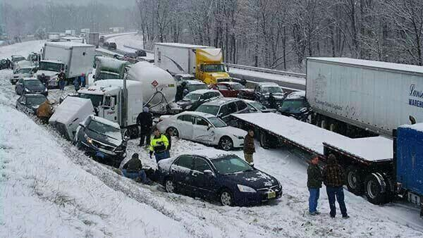 Post Christmas accident on the PA turnpike  | HOLIDAYS