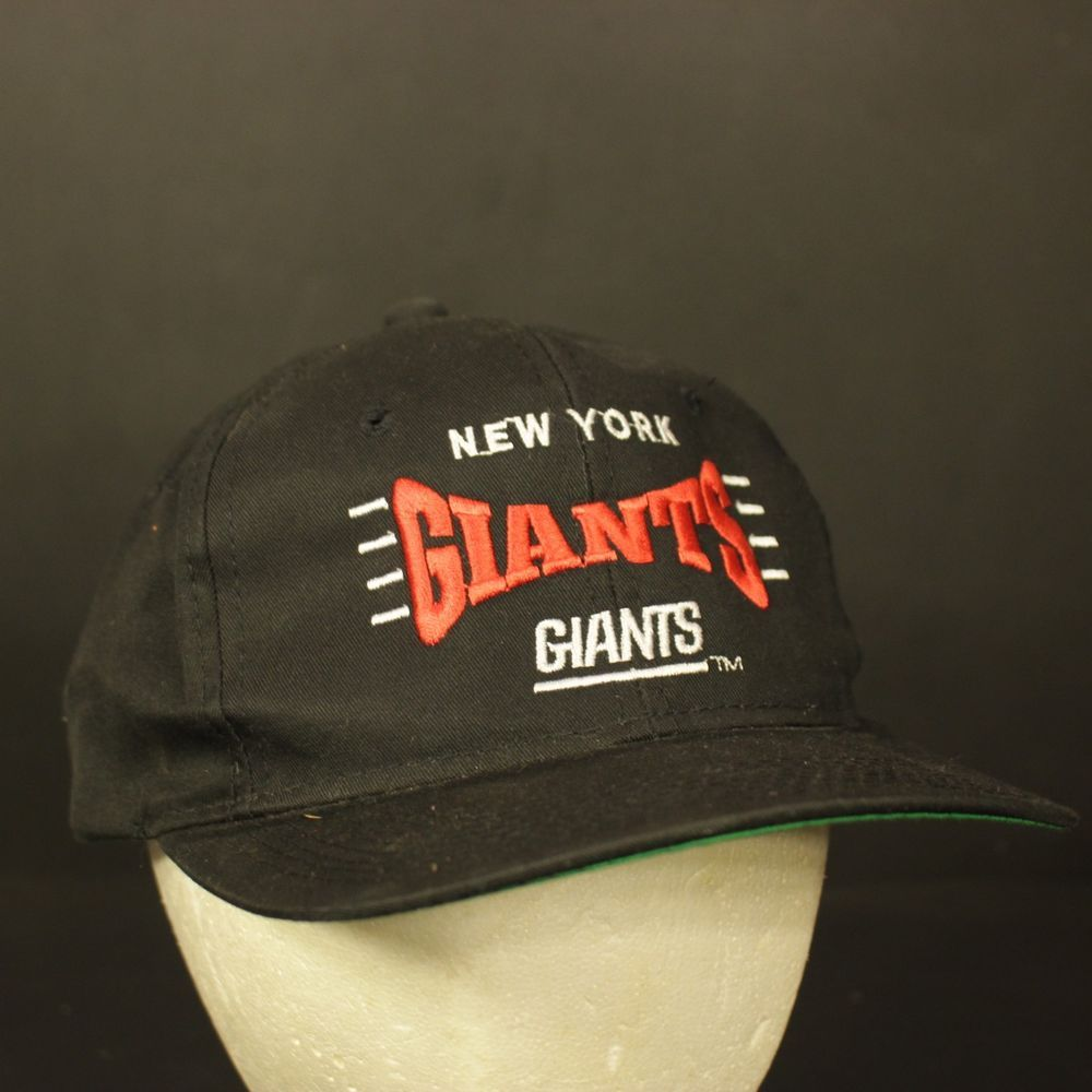 77ef4d88 New York Giants Vintage Snapback Hat Cap Retro Black Red One Size NFL  Football #TeamNFL #BaseballCap