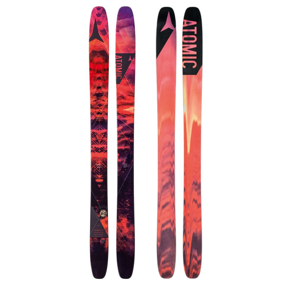 Atomic Automatic 117 Skis 2015 Skiing Outdoor Store Black Crow
